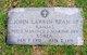 Profile photo: Pvt John Larkin Bean, III