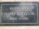 Harry G Taylor