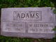 Hattie Marie <I>Roney</I> Adams