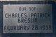 Profile photo:  Charles Patrick Breslin