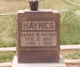 Sarah Willie <I>Watson</I> Haynes