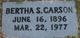 Bertha S. Carson