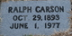 Ralph Carson