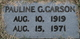 Pauline G. <I>Greenwell</I> Carson