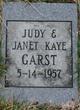 Judy Kaye Garst