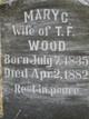 Mary C. <I>Foust</I> Wood