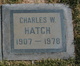 Profile photo:  Charles W. Hatch