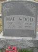 Mae <I>Powell</I> Wood
