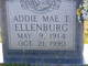 Profile photo:  Addie Mae T. Ellenburg