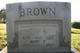 Mary Ellen <I>Trantham</I> Brown