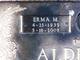 Profile photo:  Erma Mae <I>Bartlett</I> Alderman