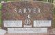 """Haroldson Miller """"'CY'"""" Sarver"""