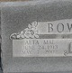 Alta Mae <I>Randall</I> Bowman