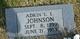 Profile photo:  Adrin L. E. Johnson
