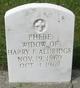 Phebe E. <I>Haag</I> Aldridge