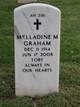 """Melladine """"Toby"""" <I>Mayo</I> Graham"""