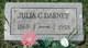 Profile photo:  Julia Catherine <I>Halfhill</I> Dabney