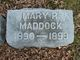Profile photo:  Mary R Maddock