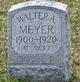 Walter A Meyer