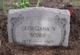 """Georgiana A. """"Georgie"""" <I>Vowles</I> Scobie"""