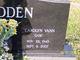 "Carolyn ""Gam"" <I>Vann</I> Bodden"