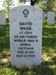 LTG David Wade