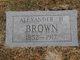 Alexander Hamilton Brown