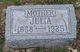 Julia <I>Thurner</I> Knoll