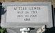 Attlee <I>Lewis</I> Ballard