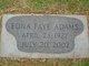 Edna Faye Adams