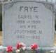 """Profile photo:  Daniel Webster """"Webb"""" Frye"""