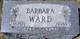 Barbara <I>Leppert</I> Ward