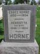 Henrietta <I>Washington</I> Horne