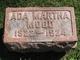 Profile photo:  Ada Martha Mood
