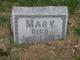 Profile photo:  Mary Winegar