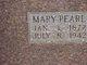 Mary E. Pearl <I>Jessup</I> Baxter