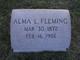 Alma L. Fleming