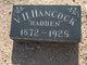"""V H """"Hadden"""" Hancock"""