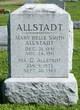 Mary Belle <I>Smith</I> Allstadt