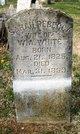 Sarah Rebecca <I>Bratton</I> White