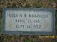 "Melvin Washington ""Coon"" Robinson, Jr"