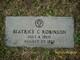 "Beatrice ""Bea"" <I>Carpenter</I> Robinson"