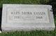 Mary <I>Shinn</I> Cossin