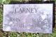 Mary Ann <I>Cooke</I> Carney