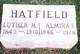 Profile photo:  Almira Elizabeth <I>Sevits</I> Hatfield