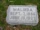 Malinda <I>Struble</I> Mount