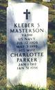 Charlotte <I>Parker</I> Masterson