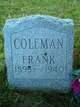 Profile photo:  Frank Coleman