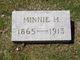 Profile photo:  Minnie M <I>Martin</I> Alter