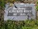 Profile photo:  Alma Kate Resch
